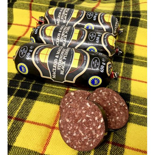 Half Black Pudding